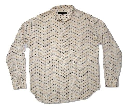 true vintage premium cotton print shirt size