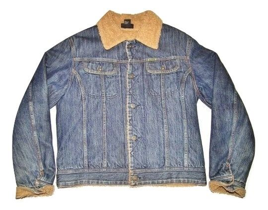 oldskool retro diesel trucker jacket UK M