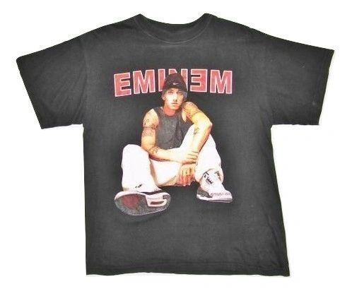 true oldskool vintage eminem original concert tshirt size S-M