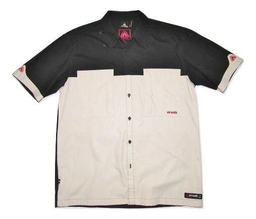 vintage airwalk short sleeve shirt size medium