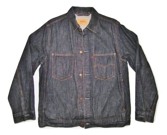 oldskool vintage levis denim jacket size M