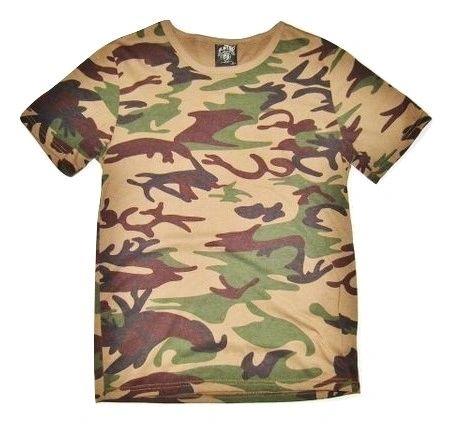 vintage army tshirt retro camo print size small
