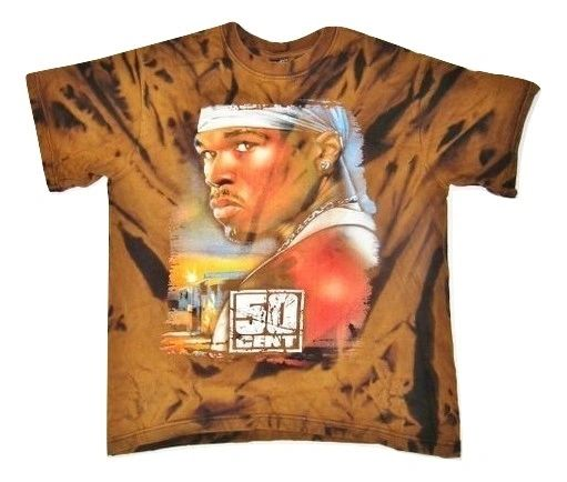 true vintage 50 cent tshirt size small
