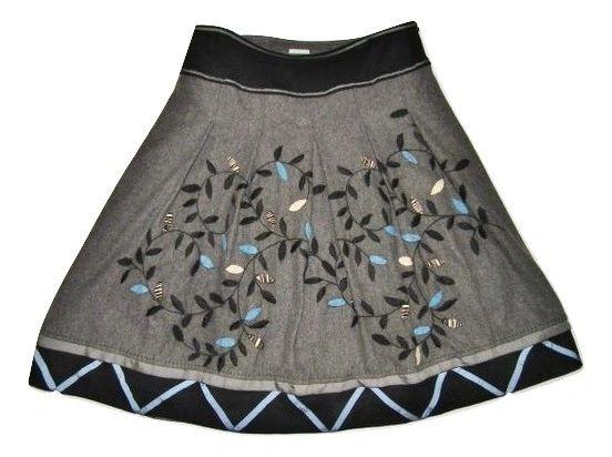 womans vintage retro skirt size 10