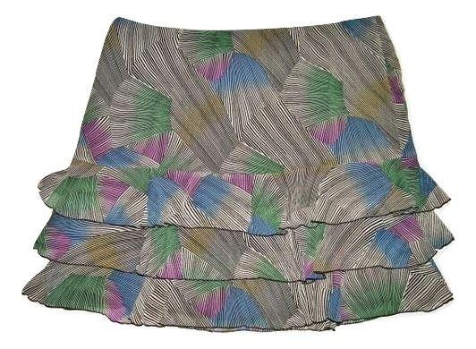 womens retro chiffon rar rar skirt size 26 XXL