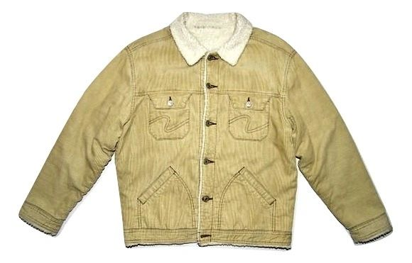 mens original oldskool cord trucker jacket size S-M