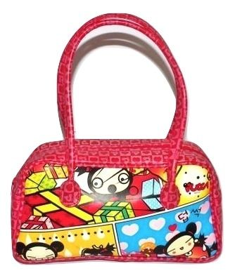 oldskool vintage pucca small carry bag