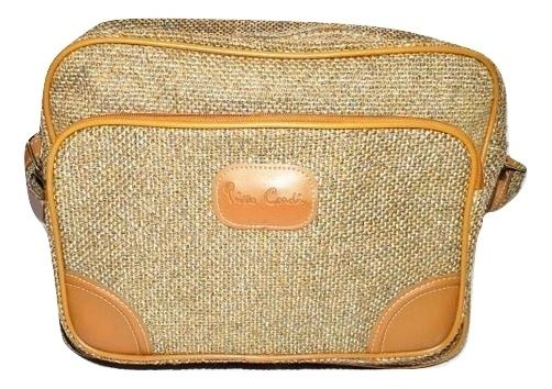 True vintage pierre cardin tweed shoulder bag