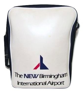 1980's true vintage airport shoulder bag