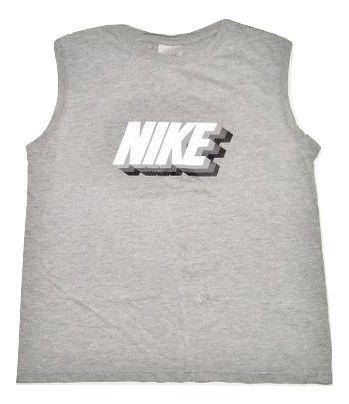true vintage grey nike vest size S-M