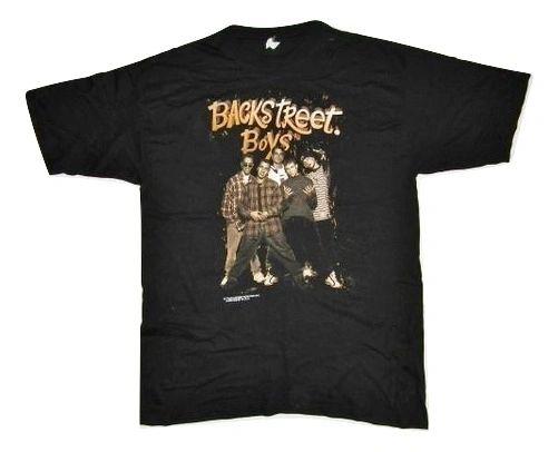 original 1996 backstreet boys concert tshirt size large