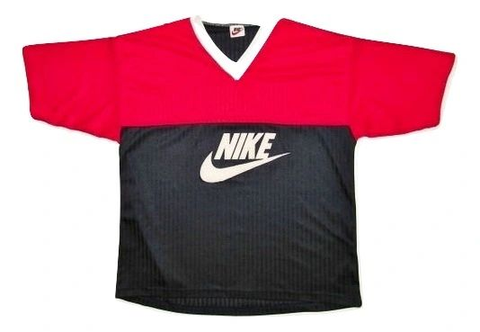 classic 80's nike spellout tshirt size large