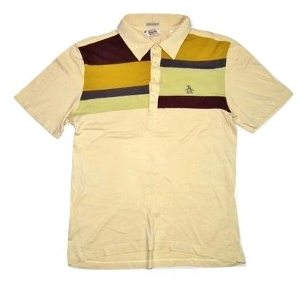 classic vintage penguin polo shirt size small