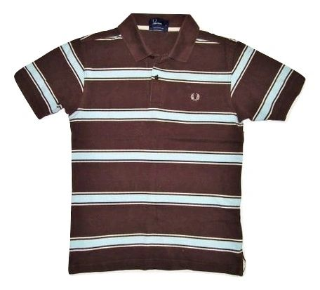vintage fred perry polo shirt size small