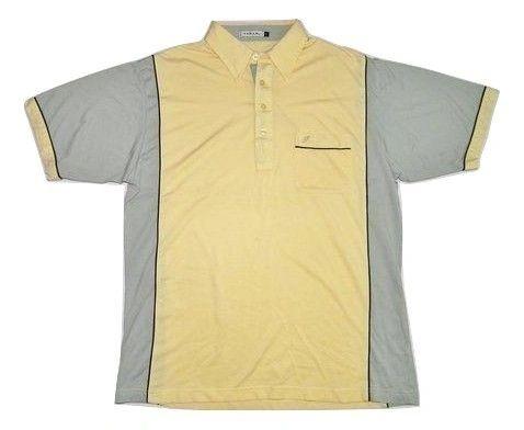 80's casual classic farah polo shirt size large