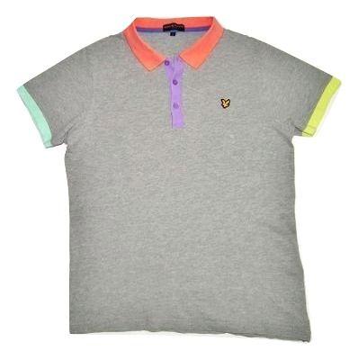 original vintage lyle and scott polo shirt size M-L