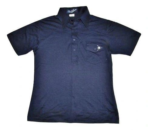 very rare original 80's casual dunlop polo shirt S-M