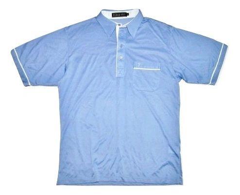 original 80's casual farah polo shirt size XL