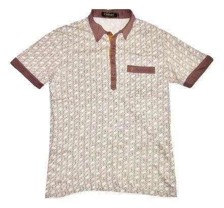true vintage farah polo shirt brown