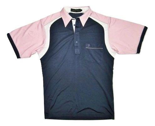 oldskool classic farah silk polo shirt S-M