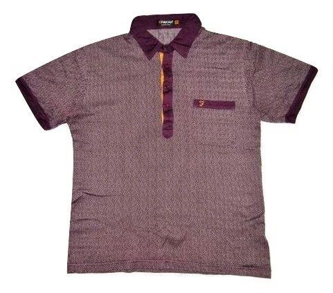 mens classic vintage farah polo shirt size S-M