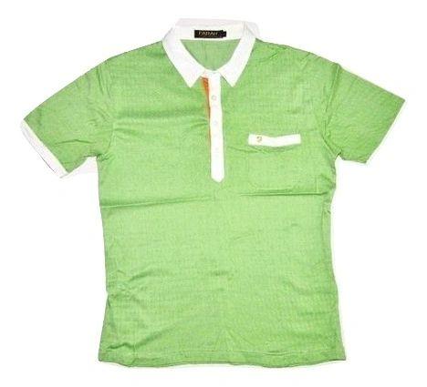 very rare vintage farah polo shirt green size M-L