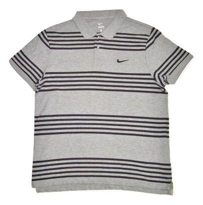 vintage grey nike polo tshirt size XL