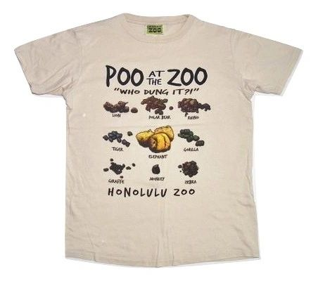 supercool poo in the zoo vintage tshirt size medium