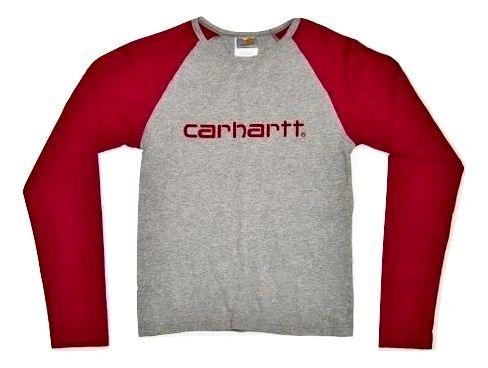 womens oldskool carhartt long sleeve tshirt size 10