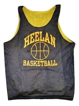 mens reversable basketball vest size large