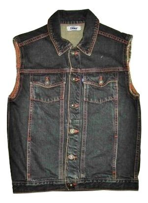 quality falmer denim waist coat size 10