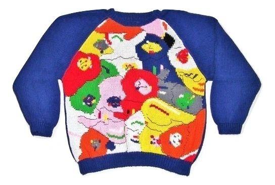 womens 90's vintage chunky knitt size large