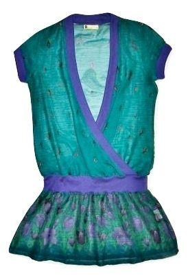 womens vintage green chiffon blouse size small, 12