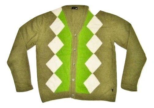 peter werth pure wool retro cardigan size S-M