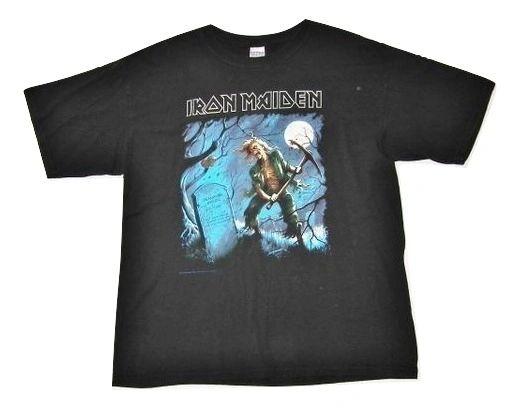 mens true vintage heavy metal tshirt size XL