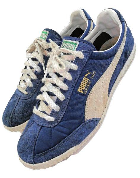 True vintage puma squash mens trainers UK 10