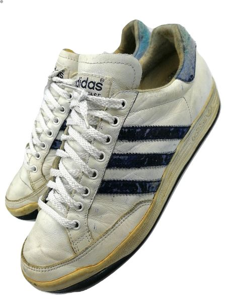 1980's true vintage leather adidas nastase size UK 8.5