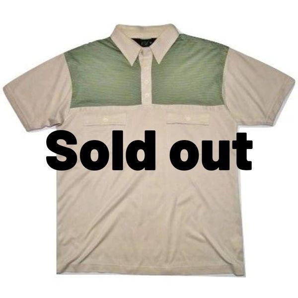 true vintage oldskool mod polo tshirt size medium