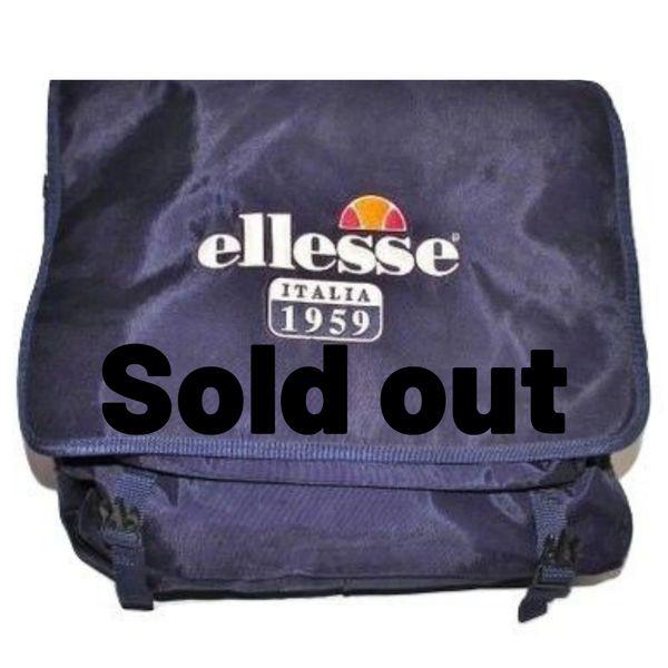 1990's true vintage ellesse record messenger bag