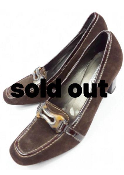 womens vintage zamagni shoes italian suede leather size uk 6