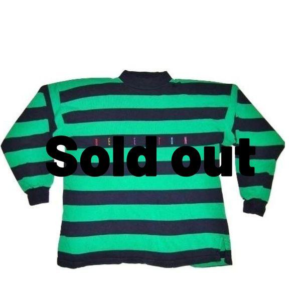 original 80's vintage benetton sweater size XL