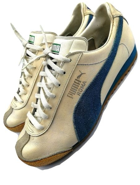 womens true vintage puma roma trainers issued 1988 size uk 5.5