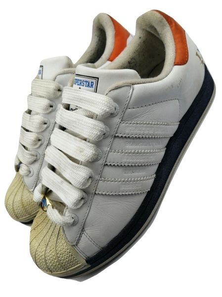 womens trainers adidas superstars 35th anniversary edition new york size uk 5 issued 2005
