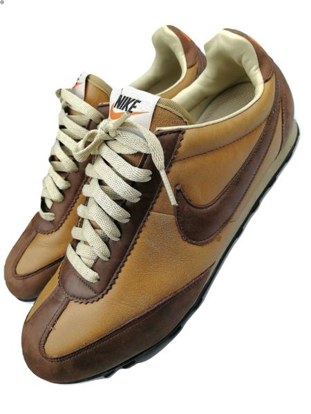 Vintage Nike Waffle womens trainers leather size UK 7 issued 2006