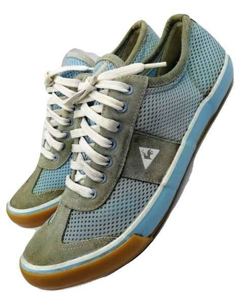 Vintage le Coq Sportif womens trainers, issued 2004 size UK 6.5
