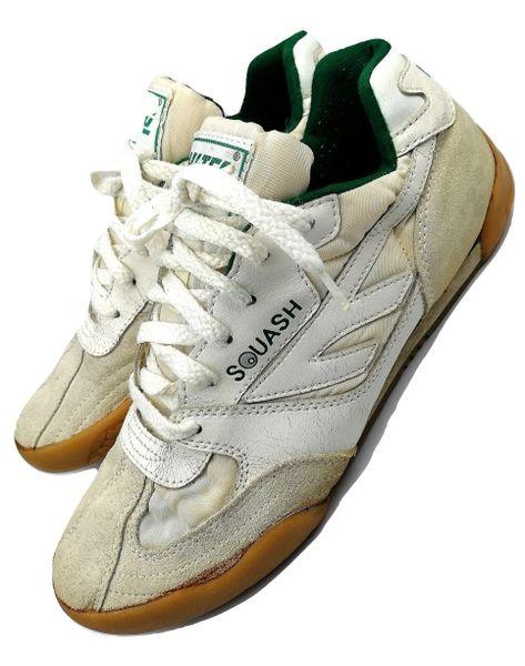 True vintage Hi-tec Squash, womans trainers original issue 2001 size UK 6