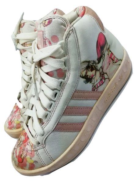 2005 true vintage adidas pink series sneakers UK 5