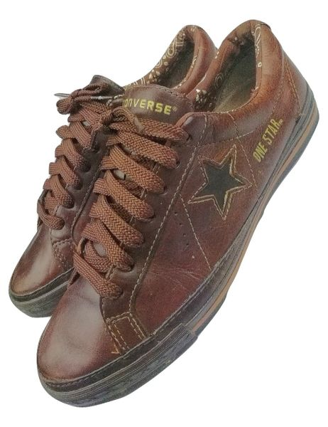 2004 true vintage one star converse trainers uk 7