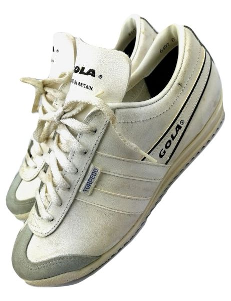 true vintage womens gola torpedo trainers uk5 issued 1983
