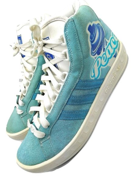 2006 true vintage adicolor hightop trainers uk8